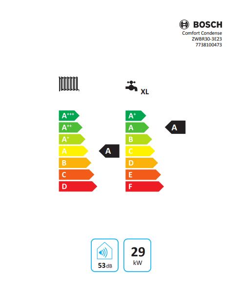 Bosch Comfort Condense ZWBR30 3A 30 kW